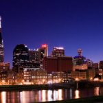 Nashville's skyline at night (Photo: Kaldari, via Wikimedia).