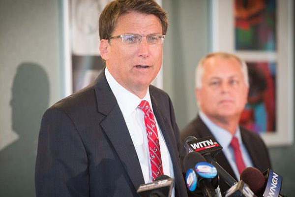 North Carolina Gov. Pat McCrory (Photo: NCDOTcommunications, via Wikimedia).