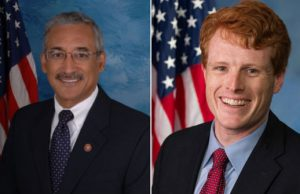 U.S. Reps. Bobby Scott, D-Va., and Joe Kennedy III, D-Mass. (Photos: U.S. Congress, via Wikimedia).