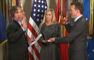 Eric Fanning sworn in, Credit: AP / YouTube