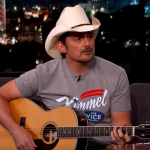 Brad Paisley, Credit: Jimmy Kimmel Live / ABC