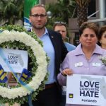 Chad Griffin at Orlando vigil, Credit: HRC / Facebook