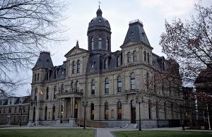New Brunswick Legislature, Credit: Breau / Wiki Commons