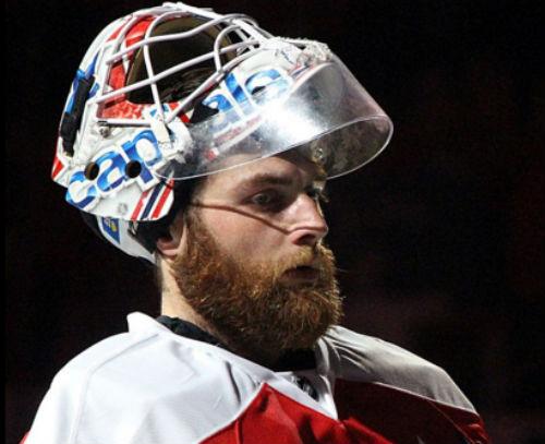 Washington Capitals goaltender Braden Holtby (Photo: Michael Miller, via Wikimedia).