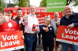Vote Leave supporters campaigning before the referendum - Photo: Vote Leave / Twitter