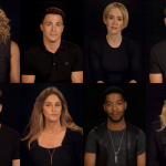 Laverne Cox, Colton Haynes, Sarah Paulson, Chris Pine, Matt Bomer, Caitlyn Jenner, Kid Cudi, and Lady Gaga - Photo: HRC / YouTube
