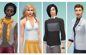 The Sims 4's new gender expression options, Credit: Maxis