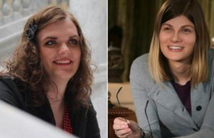 Congressional candidates Misty Snow (left) and Misty Plowright (Photos via Facebook).