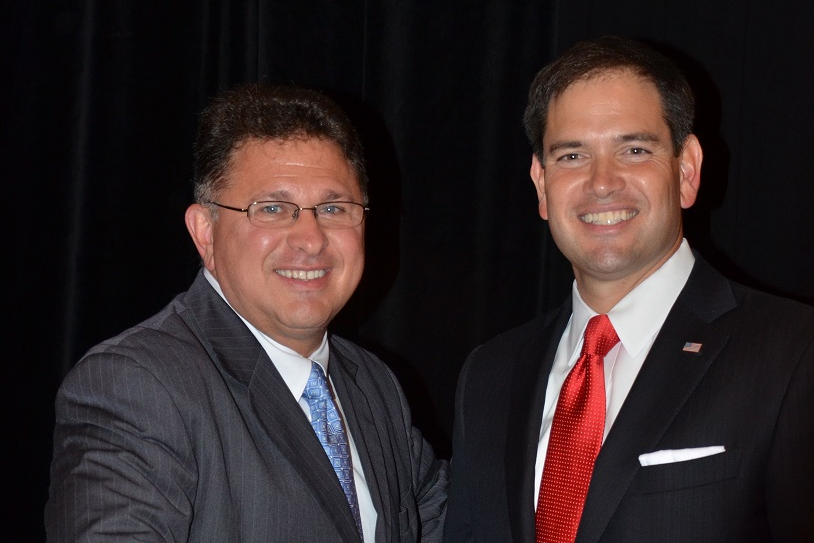 John Stemberger and Marco Rubio - Photo: Florida Family Action
