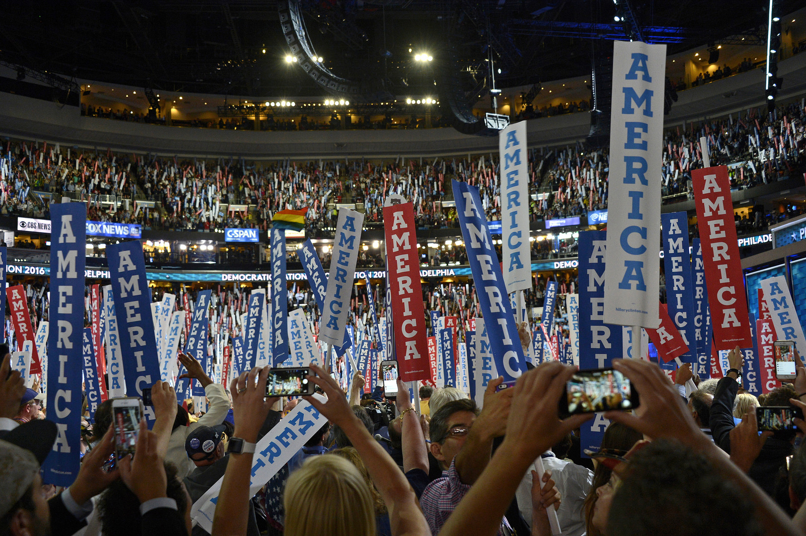 Democratic National Convention 2016, Photo: ABC/Ida Mae Astute
