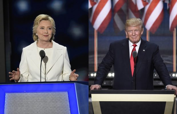 Clinton or Trump? Photos: ABC/ Ida Mae Astute