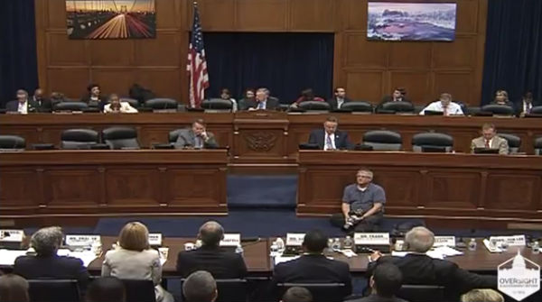 U.S. House Committee on Oversight and Government Reform (Photo: C-SPAN).