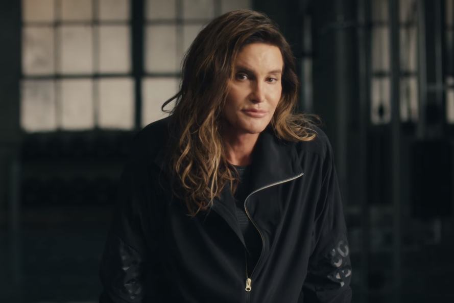 """Caitlyn Jenner in H&M's """"For Every Victory"""""""