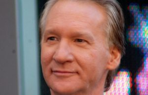 Bill Maher - Photo: Angela George, via Wikimedia.
