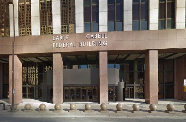 Earl Cabell Federal Building in Dallas, including the U.S. District Court for the Northern District of Texas. Photo: Google Maps