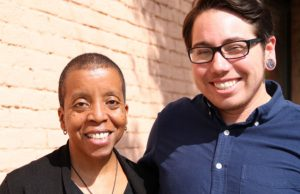 Plaintiffs Angela Gilmore and Joaquín Carcaño - Photo: Lambda Legal.