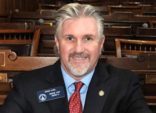 Sen. Greg Kirk - Photo: Georgia State Senate.
