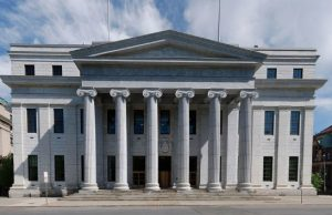 New York Court of Appeals building - Photo: Matt H. Wade, via Wikimedia.