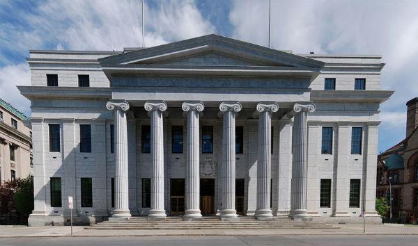 New York Court of Appeals building - Photo: Matt H. Wade, via Wikimedia.