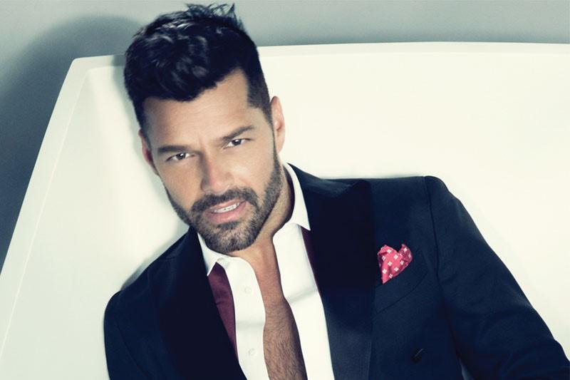 Ricky Martin Hair 2016