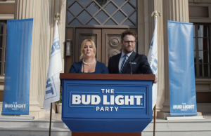 Amy Schumer and Seth Rogen, Photo: Bud Light / Screenshot