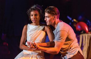 "Ayana Workman and Andrew Veenstra in ""Romeo and Juliet"" --Photo: Scott Suchman"