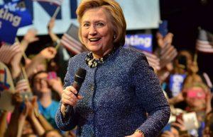 Hillary Clinton - Photo: Zachary Moskow, via Wikimedia.