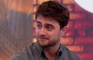 Daniel Radcliffe - Photo: BBC News.