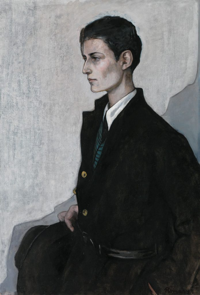Romaine Brooks, Peter (A Young English Girl), 1923-1924, oil on canvas. Smithsonian American Art Museum