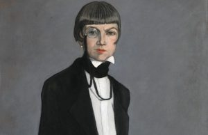 Romaine Brooks, Una, Lady Troubridge, 1924, oil on canvas. Smithsonian American Art Museum, gift of the artist