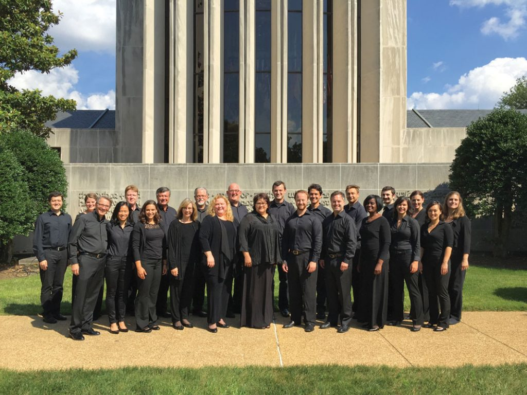 Choral Arts Chamber singers, Photo: Jeff Hart
