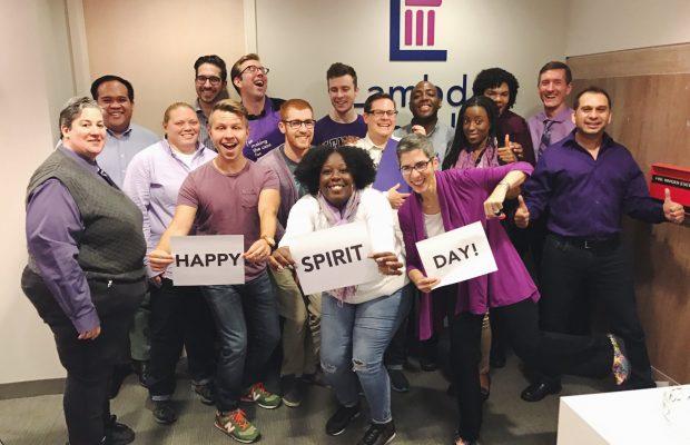 Lambda Legal celebrates Spirit Day, Photo: Lambda Legal / Twitter
