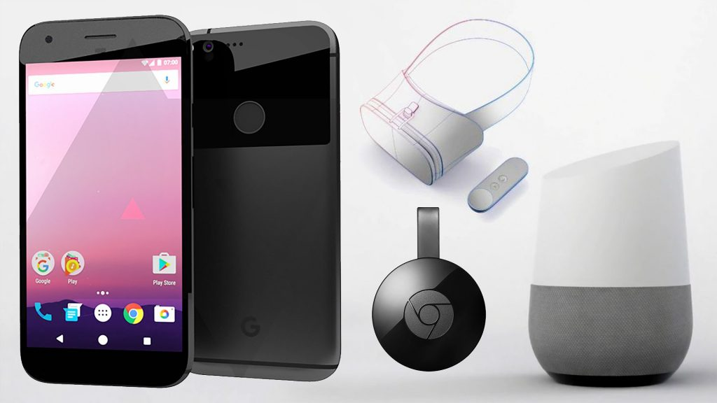 Google's full suite of announcements, Photo: Google