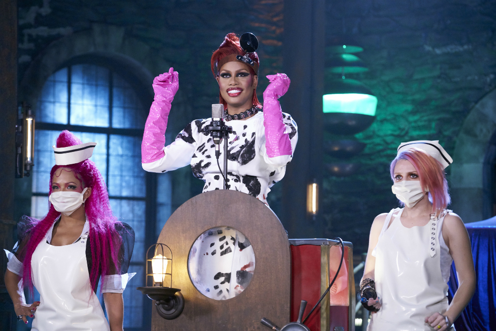 Laverne Cox as Dr. Frank-N-Furter, Photo: Fox