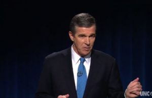 Roy Cooper - Photo: WUNC-TV.