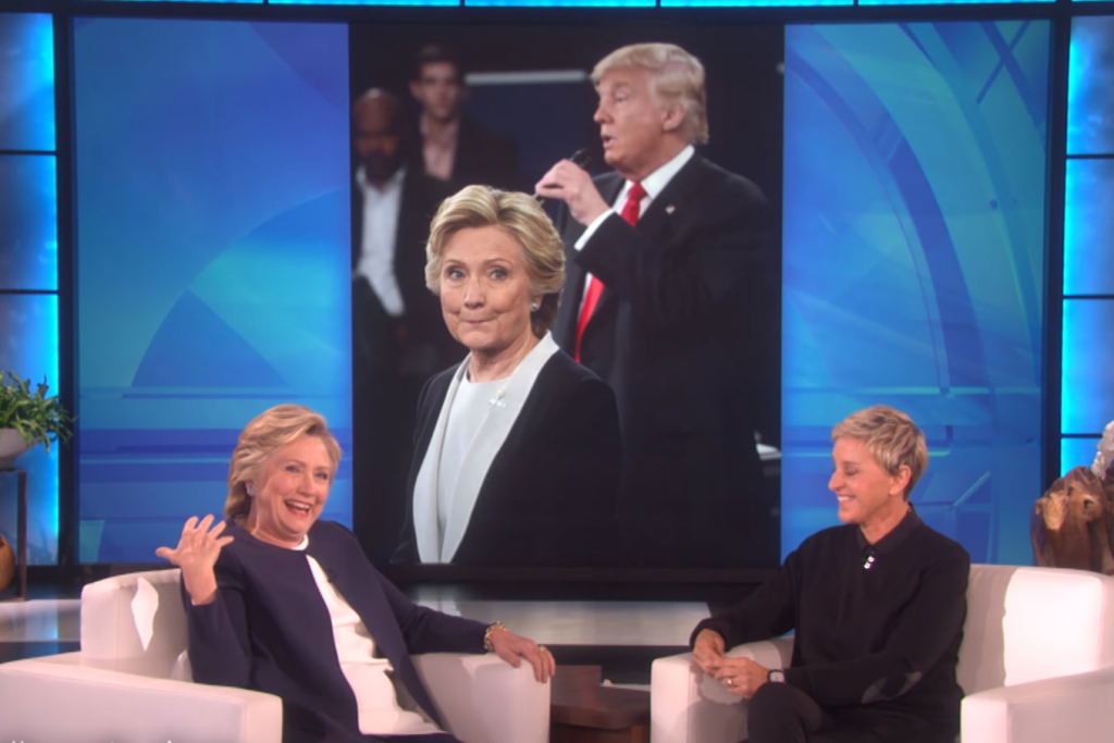 Hillary Clinton and Ellen DeGeneres, Photo: The Ellen DeGeneres Show