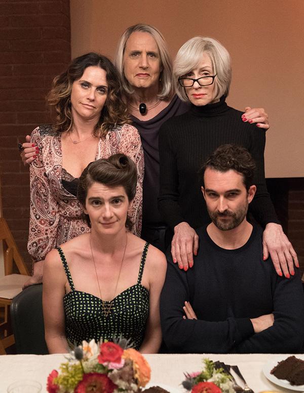 The cast of Amazon's Transparent