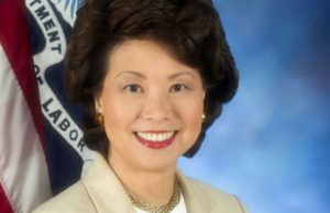 Elaine Chao - Photo: U.S. Department of Labor.