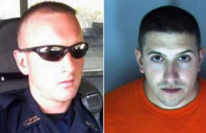 Sgt. Jonathan Moore and Anthony Aubin - Photos: Linkedin, Albany Police Department.