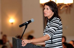 Nikki Haley - Photo: U.S. Air Force, via Wikimedia.