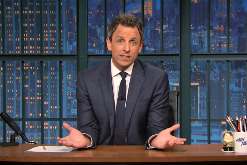 Seth Meyers, Photo: Late Night with Seth Meyers / NBC
