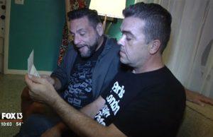 John Gascot (left) and Ron Diana - Photo: FOX 13 News.