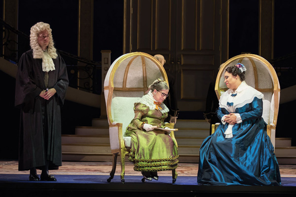 Ruth Bader Ginsburg in WNO's The Daughter of the Regiment -- Photo: Scott Suchman