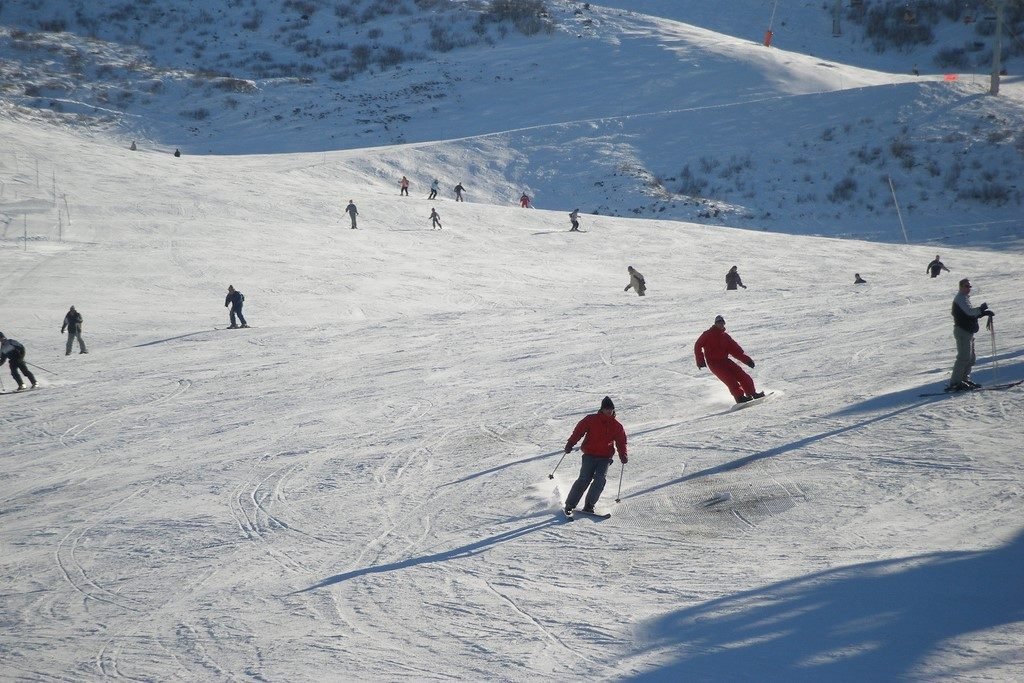 Skiing, Photo: Jérôme S / Flickr