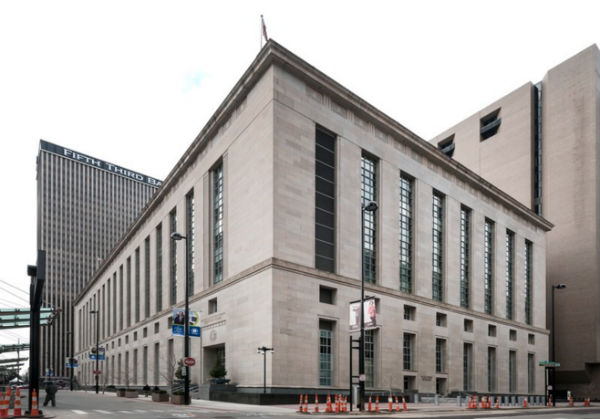 Potter Stewart Courthouse, home to the 6th U.S. Circuit Court of Appeals - Photo: Carol M. Highsmith, via Wikimedia.