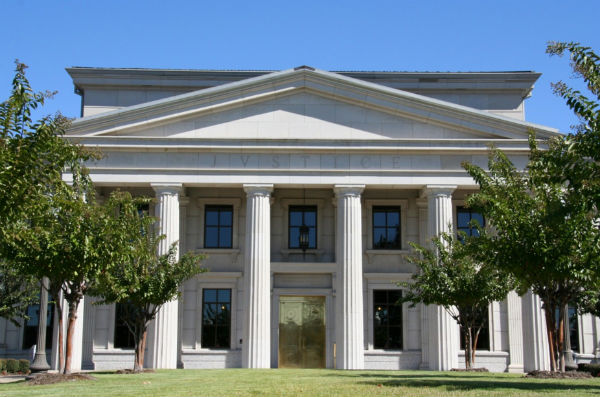 The Judiciary Building in Arkansas - Photo: Arkansas Judiciary.