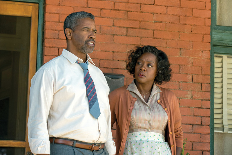 Fences: Denzel Washington and Viola Davis