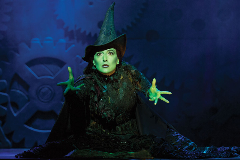 Jessica Vosk as Elphaba -- Photo: Joan Marcus