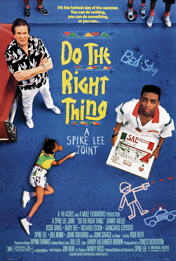 "spike lees do the right thing Like all ""spike lee joints,"" the ice cube scene between tina and mookie from do  the right thing was beautifully shot, a carefully."