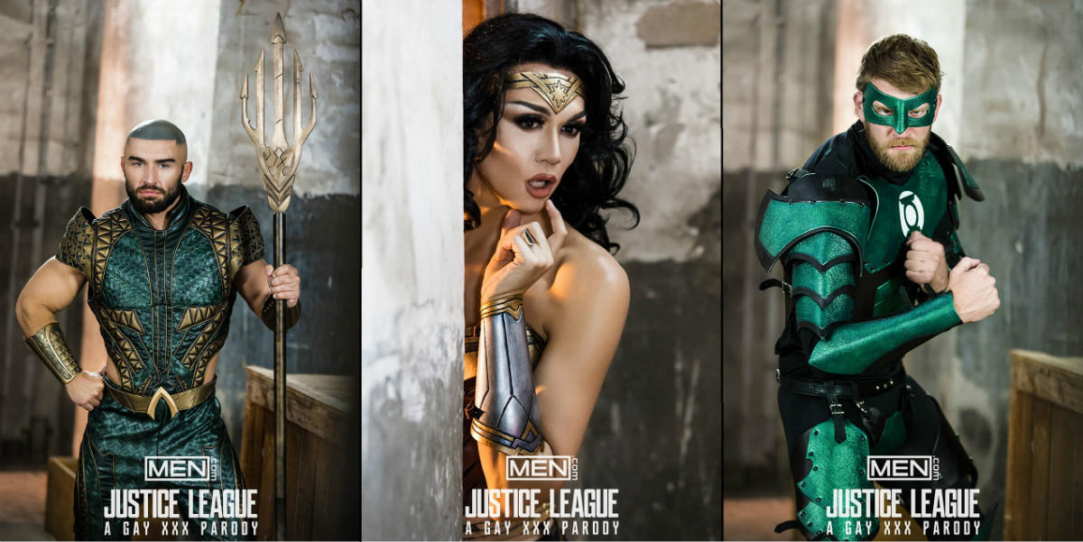 The justice league porn